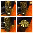 Hand Engraved Brass Shifter Peg / Toe Peg