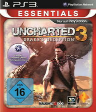 PlayStation 3 juego: Uncharted 3 ps-3 Essentials nuevo & OVP
