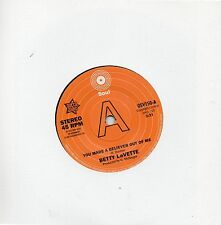 BETTY LAVETTE-YOU MADE A BELIEVER OUT OF ME / UJIMA-I'M NOT READY  Ltd Edn  DEMO