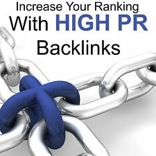 SEO 50 Alta Pr Pr6-Pr10 agregados manualmente backlinks dofollow Edu ranking Google
