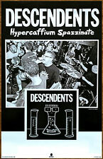 DESCENDENTS Hypercaffium Spazzinate 2016 Ltd Ed RARE Poster +FREE Punk Poster!
