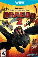 How to Train Your Dragon 2 SEALED W/ CASE (Nintendo Wii U, 2014) Free Shipping