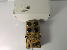 EARLY MENATONE WORKINGMAN'S BLUE OVERDRIVE EFFECTS PEDAL w/BOX ORIGINAL MKI #015