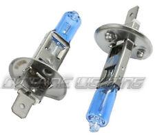 H1 80w Headlight/Fog 6k 6000k Super White Xenon Halogen Headlamp Light Bulb PAIR