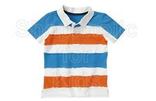 SFK crazy8 Pieced Stripe Polo Shirt White shirt kids tshirt