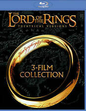 The Lord of the Rings: 3-Film Collection (Blu-ray Disc, 2014, Theatrical Version
