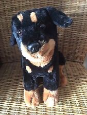 """THE HERITAGE COLLECTION by Ganz ROTTWEILER Plush Stuffed Dog 10"""""""