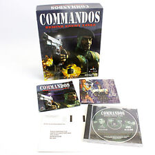 Commandos Behind Enemy Lines for PC by Eidos Interactive, Big Box, 1998