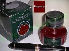 MonteVerde Lubricated ITF Fountain Pen Ink - BURGUNDY - New