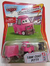 DISNEY PIXAR THE WORLD OF CARS  RACE O RAMA - TANK COAT PITTY #74