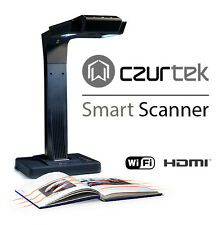 Czur ET16 WiFi HDMI 16M camera 24-bit scanner for book/3D object fast scanning