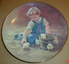 The Hamilton Collection Collectors Plate SPECIAL FRIENDS Chicks
