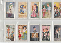 Ogdens Cig Cards set 50 1936 Shots from the Films in very Good condition