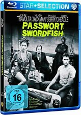 Blu-ray PASSWORT: SWORDFISH John Travolta, Hugh Jackman, Halle Berry ++NEU