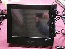 "15"" POS Touch Screen Monitor with Card Swipe w/Wall Mount - Untested"