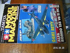 1µ?a Revue Tamiya Model Magazine n°28 Jeep SAS G4M1 Betty Alfa 155 V6 PBY-5