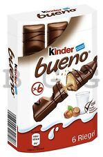 FERRERO - Kinder Bueno - 6 pcs - German Production