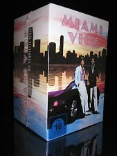 DVD MIAMI VICE - GESAMTBOX - KOMPLETT - SEASON 1+2+3+4+5 - TV Staffel ** NEU **