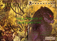 Predators Preserve the Game CUSTOM EDITION ASHCAN Comic GREAT Wrap-Around Cover