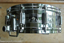 80's TAMA KING BEAT SNARE DRUM 5X14 w/ DIE-CAST HOOPS for YOUR DRUM SET! #T130