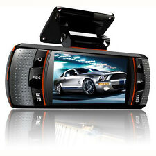 "2.7"" 1080P FHD Dual Lens Car DVR Dash Cam Camera Video Front and Rear Recorder"