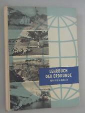 DDR Lehrbuch Klasse 8/Geographie=Erdkunde/Volk und Wissen 1966 Abbild.+Skizze