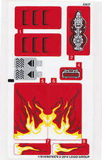 LEGO 70727 - Ninjago - X-1 Ninja Charger - STICKER SHEET