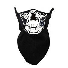 Skull Neoprene Winter Neck Warm Face Mask Veil Sport Motorcycle Ski Bike Mask UK