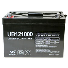 UPG New UB121000 45978 12V 100AH Battery Scooter Wheelchair Mobility Deep Cycle