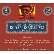 "GARY ""REVEREND""/+ DAVIS - GUITAR EVANGELISTS VOLUME 2 4 CD NEU MOTHER MCCOLLUM"