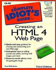 Complete Idiot's Guide To Creating An HTML 4 Web Page (The Complete Id-ExLibrary