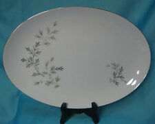 "ARLEN Fine China - Silver Spray 1582 - 14"" Oval Serving Platter"