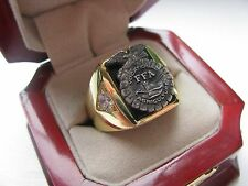 Superb NEW! Mens Future Farmers of America Crest Ring *