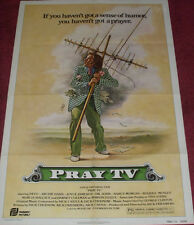 Cinema Poster: PRAY TV 1980 (One Sheet) Dabney Coleman