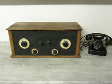 antique tsf valve Receiver Tube Radio tsf lamp old rare vintage wood
