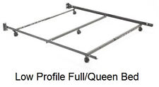 Full/Queen 5 Leg Steel/Metal Low Profile Bed Frame by Restmore
