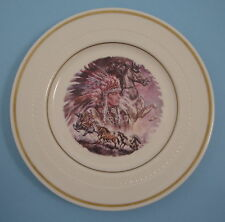 Syracuse China Indian Chief Horse Southwest Decorative Salad Bread Plate 28-D-10