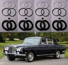 (x4) ROLLS ROYCE Silver Shadow FRONT BRAKE CALIPER REPAIR Seals Kits (1965- 80)