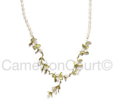 Michael Michaud Boxwood Necklace w/Pearls for Silver Seasons