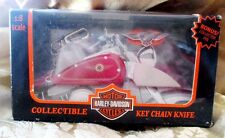 HARLEY DAVIDSON COLLECTABLE KNIFE KEY CHAIN WITH A HARLEY BADGE