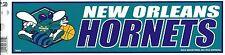 NEW ORLEANS HORNETS NBA LICENSED BUMPER STICKER NEW