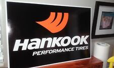 "HANKOOK Tires Sign  16"" x 24"""