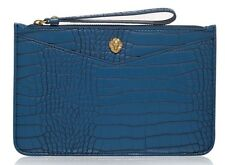 FRANCES by ANNE KLEIN Blue Wristlet Clutch Bag - Brand New