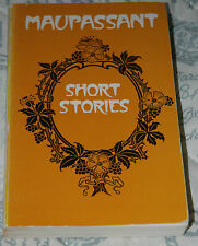 MAUPASSANT - SHORT STORIES - 1977 Dent paperback
