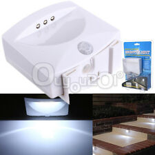 Motion Activated PIR Sensor Wireless Security LED Night Light Wardrobe Car Lamp