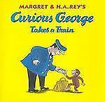 Curious George Takes a Train-ExLibrary
