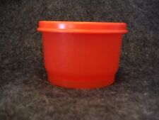 Tupperware 4914 Snack Cup Sheer Red with Red Lid # 4922