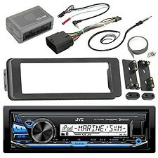 JVC KDX33MBS Marine Radio Stereo Receiver For 1998 2013 Harley Davidson T... New