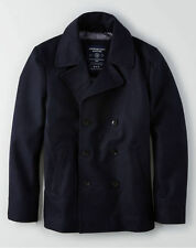 American Eagle Men Wool PeaCoat size XL-Tall new with tags