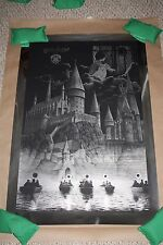 Harry Potter And The Sorcerer's Stone FOIL Screen Print Movie Poster Gerhard /35